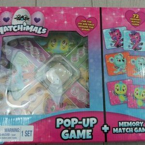 Hatchimals Pop-Up Game and Memory Match Game